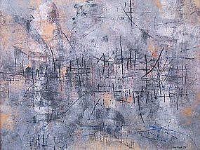 Don Fink, Untitled Composition, 1956