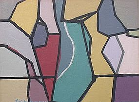 Loran A.D. Montgomery, Abstract Painting, Untitled