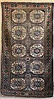 Antique Baluch Rug with Tekke Guls, circa 1900