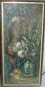 Alexander Redein, Nude, Oil on panel