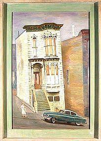 "MAX HEIMANN, ""AMERICAN SUNDAY"", circa 1950s"