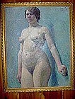 "LILLIAN GENTH, ""STANDING NUDE"""
