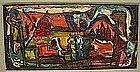 GEORGE JOSEPH HABERGRITZ, MEXICAN LANDSCAPE