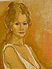 JAN DE RUTH, UNTITLED PORTRAIT CIRCA 1960