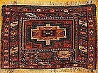 ANTIQUE KURD BAG FACE, NW PERSIA, MEMLING GUL