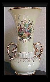 Abingdon Baden vase (520/9H/1940-48) decals & trim