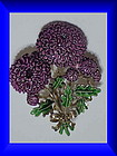 Exquisite Chrysanthemum birthday brooch -November