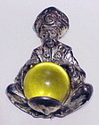 Korda Thief of Bagdad fortune teller with crystal ball