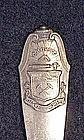 Sterling souvenir fork: Denver, Colorado