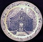 Meakin Staffordshire St. Augustine, Florida plate