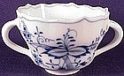Meissen Blue onion bouillon cup