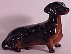 Beswick dachshund- seated #1460