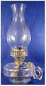 Climax bracket finger kerosene lamp