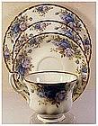 """Royal Albert """"Moonlight Rose"""" cup,saucer,B&B,  +Salad"""