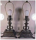 Aladdin Jewel Case Parisian Bronze Lamps