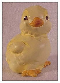 "Goebel ""1987 Yellow Chick"" 4th Annual Easter Figurine"
