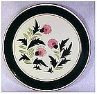 "Stangl Thistle 12"" chop plate  ( round platter)"