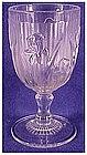 Iris & Herringbone, clear water goblet Jeannette