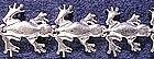 Sterling frog bracelet