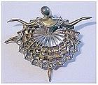 Boucher 'Ballet of Jewels' Prima ballerina pin