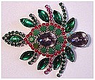 DeLillo Christmas tree or bug pin --Very impressive