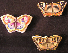 Spode Porcelain Box of Butterfly
