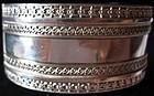 Sterling silver Etruscan style Birmingham bracelet 1907