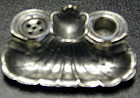 Inkstand, miniature in pewter, Ca 1900