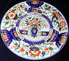 "Ashworth ""japan"" pattern dinner plate, Ca 1850"