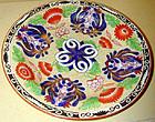 Wedgwood pearlware dessert plate, Chrysanthemum pattern