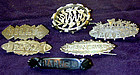 Victorian name brooches. Priced each