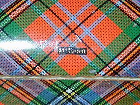 "Tartanware Box ""McLean"" clan, c1900"
