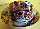 "Spode porcelain cup and saucer in ""Lord Nelson"" pattern"