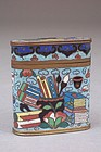 Good 19th Century Cloisonne Opium Container - Treasures