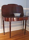 Federal Period Philadelphia Mahogany Games Table, Circa 1810