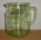 "Green CAMEO 6"" Juice Pitcher"