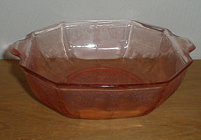 "Pink Princess 9"" Octagonal Salad Bowl"