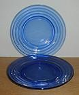 """Cobalt Moderntone 7 3/4"""" Luncheon Plates"""