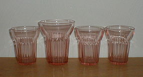 Pink Queen Mary Tumblers