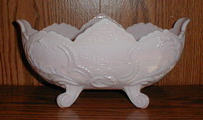 "Shell Pink Lombardi 10 7/8"" Footed Bowl"