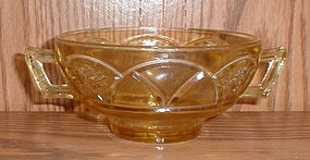 "Amber ""Rosemary"" (Dutch Rose) Cream Soup Bowls"