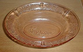 "Pink SHARON 9 1/2"" Oval Vegetable Bowls"