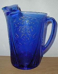 Cobalt ROYAL LACE 48oz. Pitcher