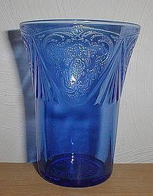 "Cobalt ROYAL LACE 3 1/2"" Juice tumblers"