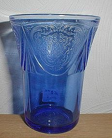 "Cobalt ROYAL LACE 4 1/8"" 9 oz. Tumblers"
