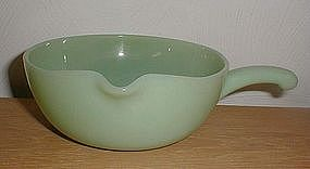 Fire King Jadeite 1 Spout Skillet