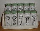 Griffith's 10 Shaker Set - Original Rack