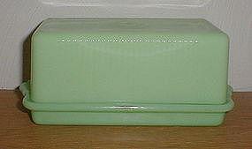 McKee Jadeite 1 1/4 lb. Butter Dish
