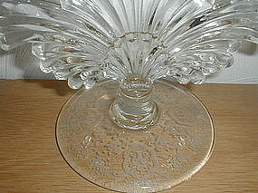 Bridal Bouquet crystal Candleholder - Glastonbury Lotus