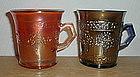 Fenton ORANGE TREE Mugs